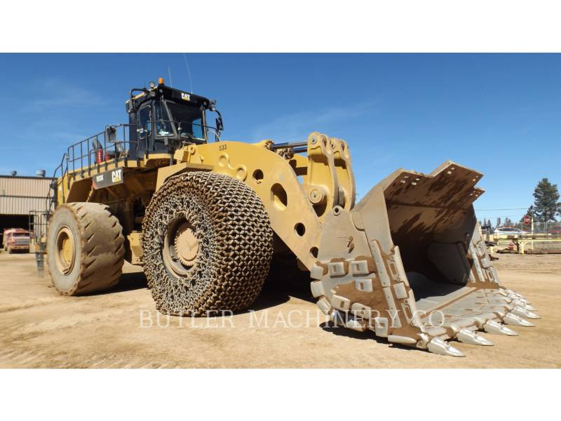 Caterpillar ÎNCĂRCĂTOR MINIER PE ROŢI 993 K equipment  photo 3