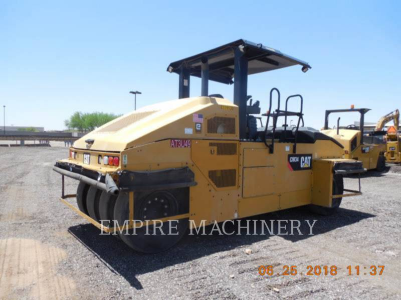 CATERPILLAR COMPACTEURS SUR PNEUS CW34 equipment  photo 2