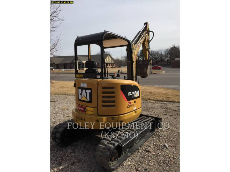 CATERPILLAR TRACK EXCAVATORS 302.7DCRLO equipment  photo 3