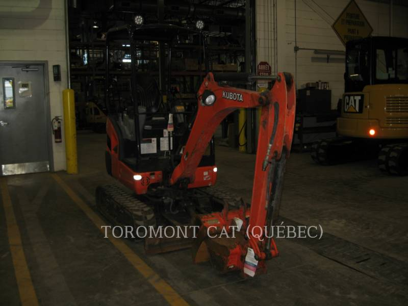 KUBOTA CORPORATION KETTEN-HYDRAULIKBAGGER KX018-4 equipment  photo 3