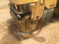 CATERPILLAR TAMBOR DOBLE VIBRATORIO ASFALTO CB-224E equipment  photo 12