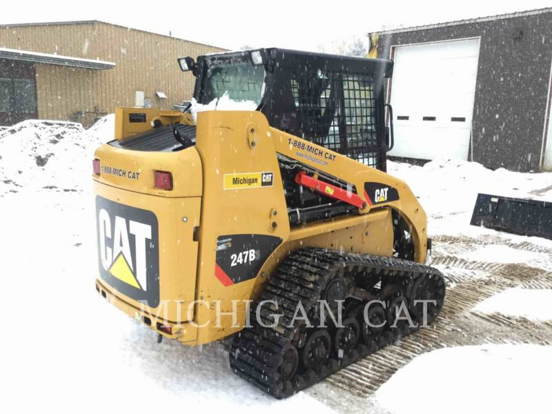 CATERPILLAR CHARGEURS TOUT TERRAIN 247B3 CQ equipment  photo 4