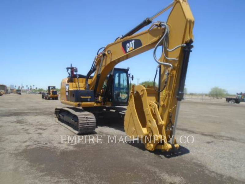 CATERPILLAR KETTEN-HYDRAULIKBAGGER 320ELRRTHP equipment  photo 1