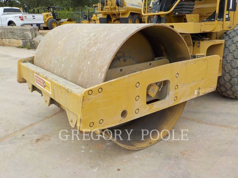 CATERPILLAR VIBRATORY SINGLE DRUM SMOOTH CS-54 equipment  photo 3