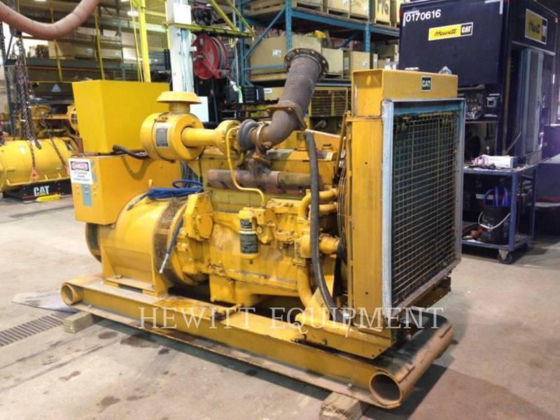 CATERPILLAR STATIONARY GENERATOR SETS D334, 200KW 600 VOLTS equipment  photo 3