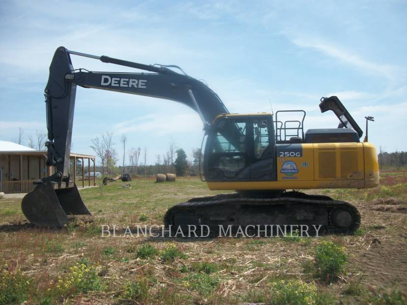 JOHN DEERE ESCAVATORI CINGOLATI 250GLC equipment  photo 4