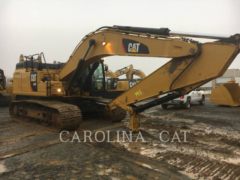 CATERPILLAR TRACK EXCAVATORS 349F equipment  photo 6