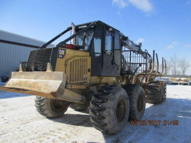 CATERPILLAR FORESTRY - FORWARDER 574 equipment  photo 1