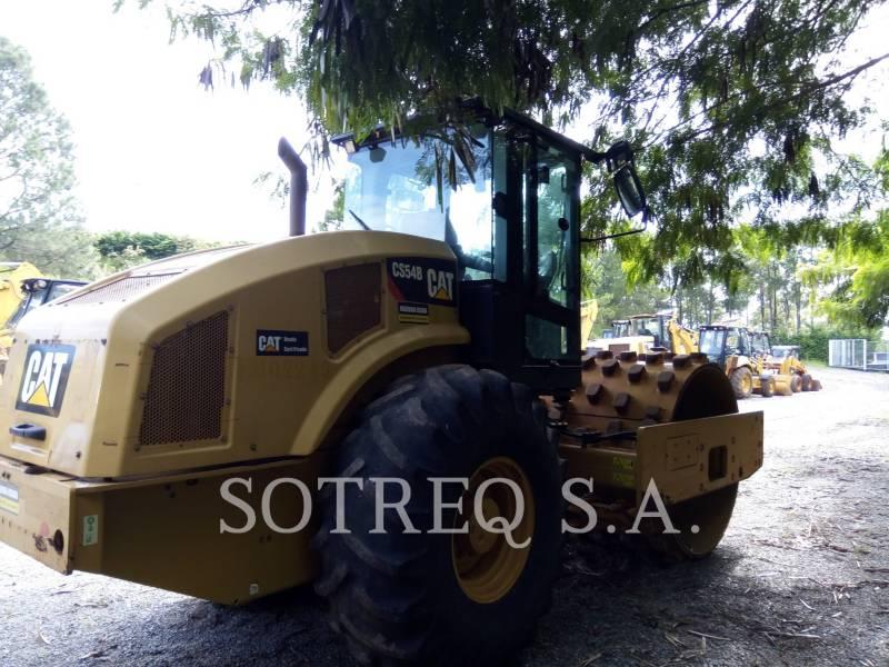 CATERPILLAR COMPATTATORE A SINGOLO TAMBURO VIBRANTE LISCIO CS54BLRC equipment  photo 1