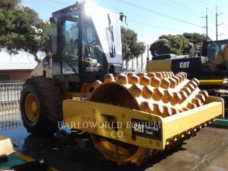 CATERPILLAR ACOLCHOADO DO TAMBOR ÚNICO VIBRATÓRIO CP-533E equipment  photo 4