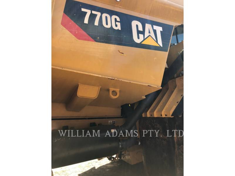 CATERPILLAR TOMBEREAUX DE CHANTIER 770G equipment  photo 10