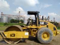 Equipment photo CATERPILLAR CS 533 E COMPACTEUR VIBRANT, MONOCYLINDRE LISSE 1
