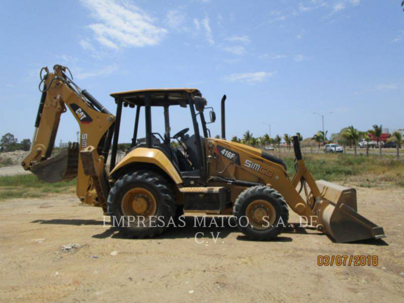CATERPILLAR BACKHOE LOADERS 416F2STLRC equipment  photo 1