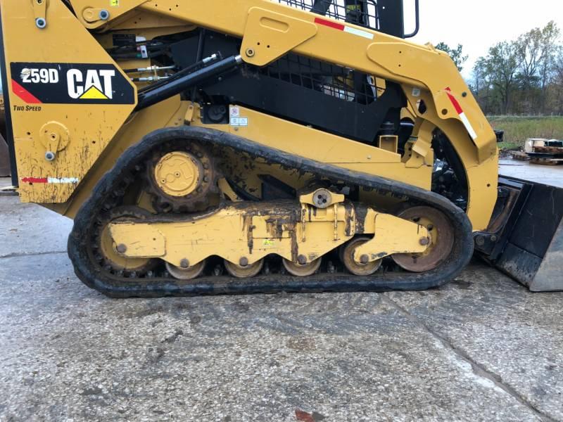 CATERPILLAR 多様地形対応ローダ 259D equipment  photo 10