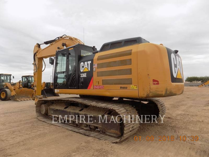 CATERPILLAR TRACK EXCAVATORS 336ELH equipment  photo 3