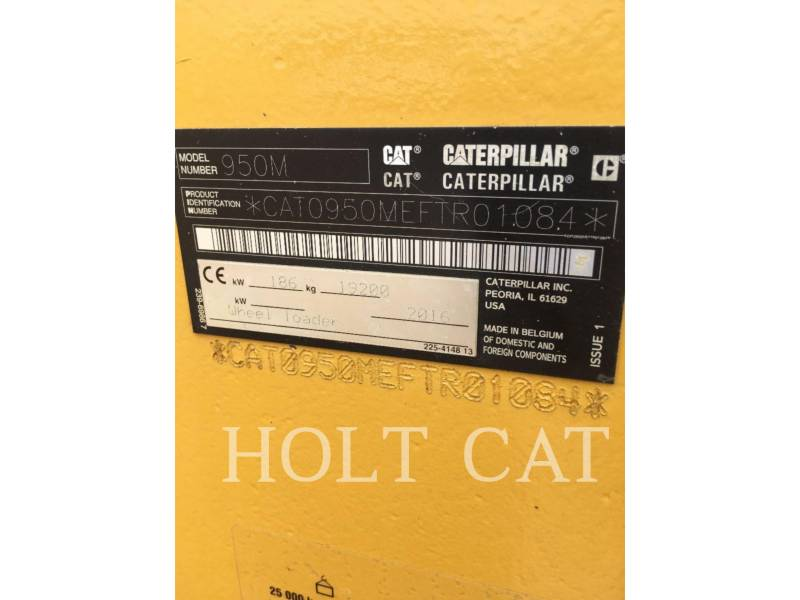 CATERPILLAR 轮式装载机/多功能装载机 950M equipment  photo 5