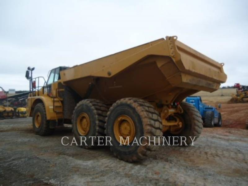 CATERPILLAR KNICKGELENKTE MULDENKIPPER 735C TG equipment  photo 3