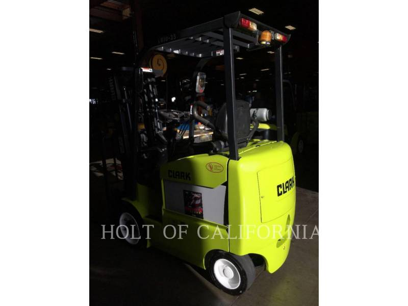 CLARK CARRELLI ELEVATORI A FORCHE ECX20 equipment  photo 3