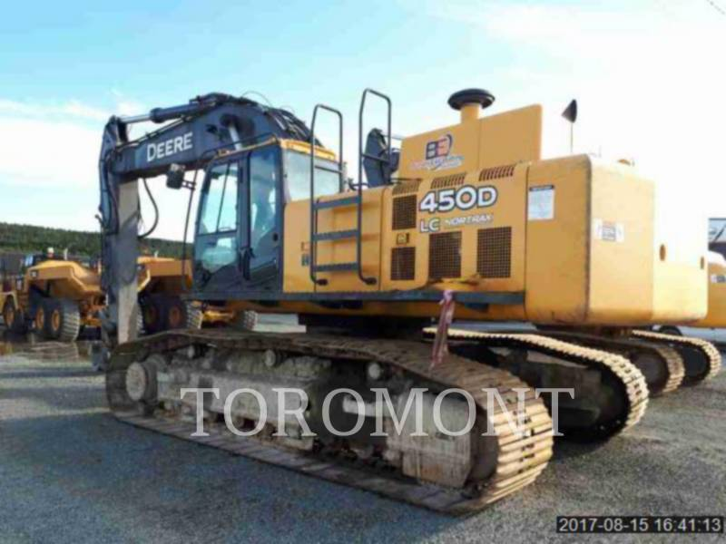 DEERE & CO. TRACK EXCAVATORS 450DLC equipment  photo 1