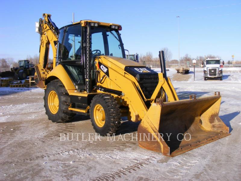 CATERPILLAR BACKHOE LOADERS 420 F equipment  photo 2