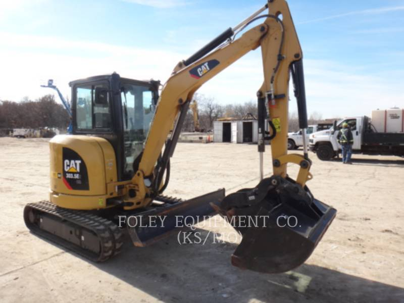 CATERPILLAR TRACK EXCAVATORS 303.5E2LC equipment  photo 1