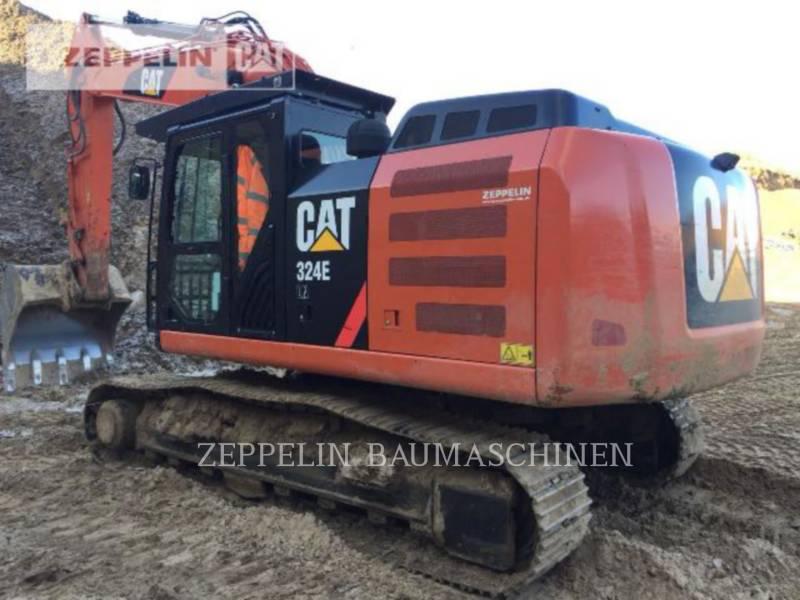 CATERPILLAR トラック油圧ショベル 324ELN equipment  photo 1