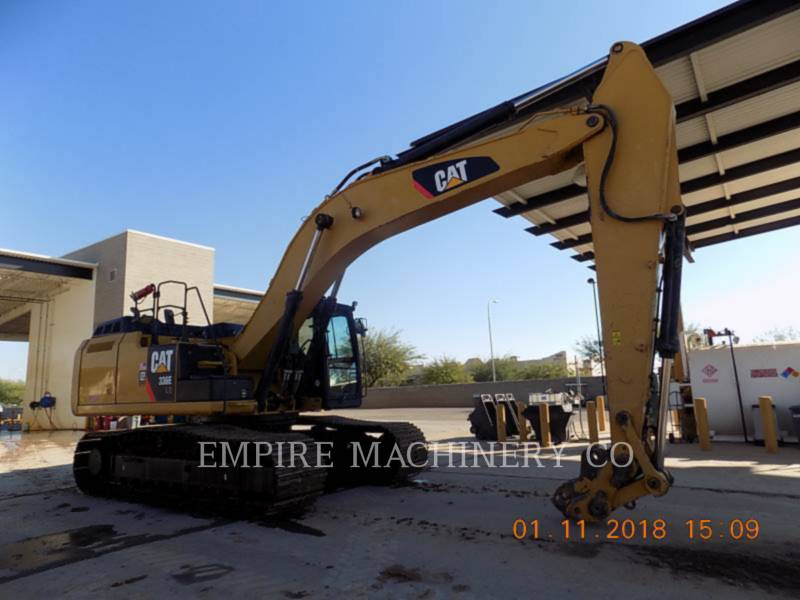 CATERPILLAR TRACK EXCAVATORS 336EL HYB equipment  photo 1
