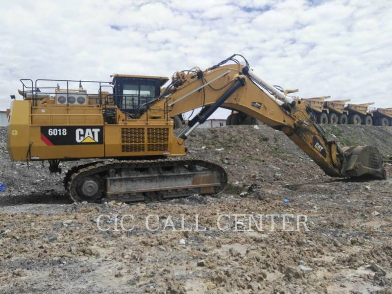 CATERPILLAR PALA PARA MINERÍA / EXCAVADORA 6018 equipment  photo 3