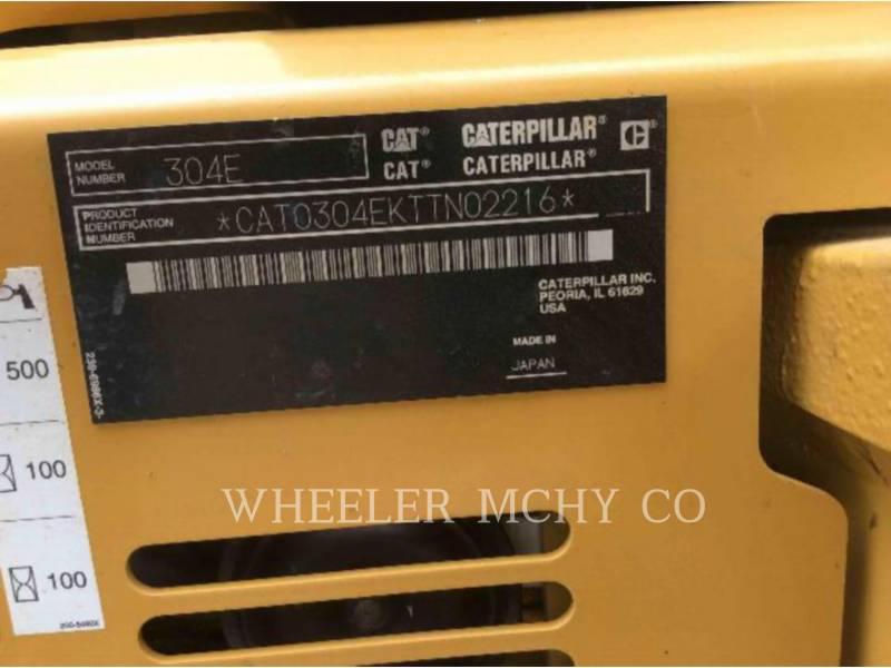 CATERPILLAR TRACK EXCAVATORS 304E C1 equipment  photo 16