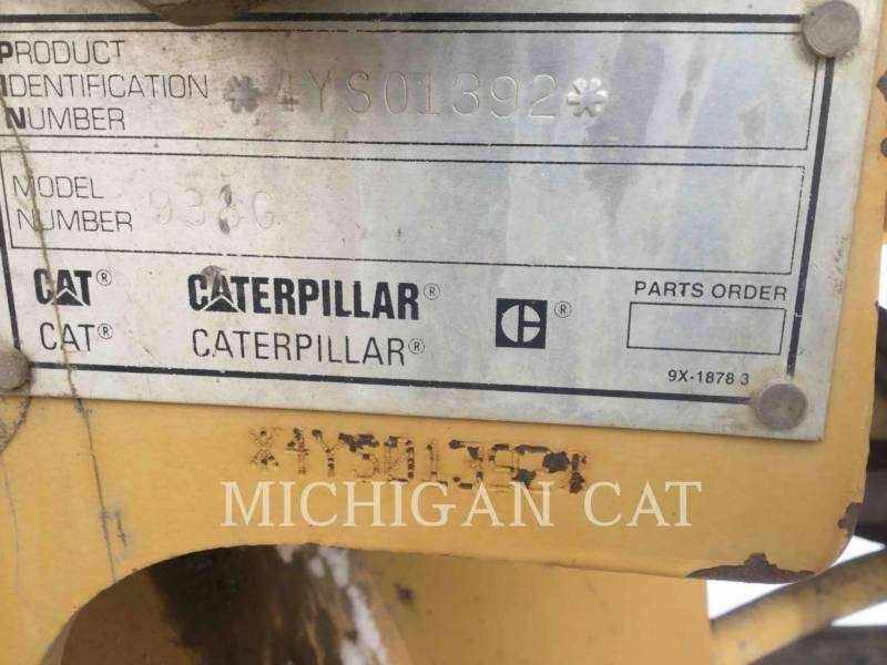 CATERPILLAR WHEEL LOADERS/INTEGRATED TOOLCARRIERS 938G equipment  photo 8