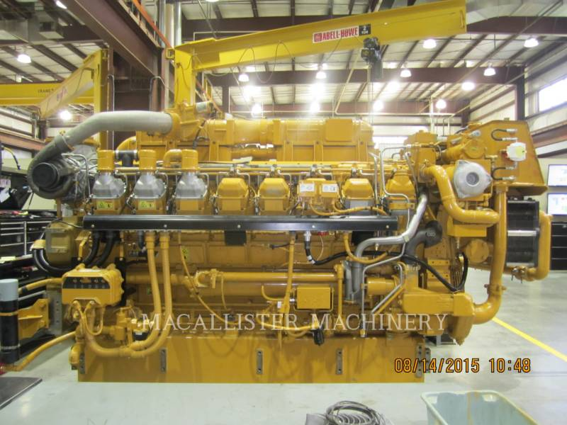 CATERPILLAR STATIONARY GENERATOR SETS 3516C-HD equipment  photo 1