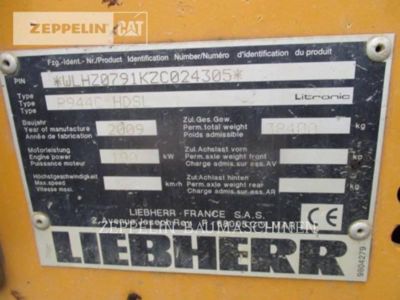 LIEBHERR KETTEN-HYDRAULIKBAGGER R944 equipment  photo 9