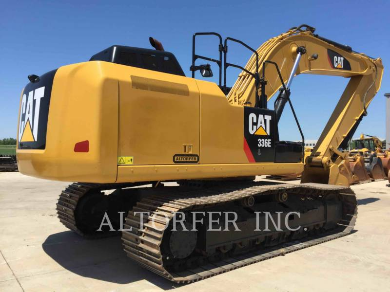 CATERPILLAR 履带式挖掘机 336EL equipment  photo 3