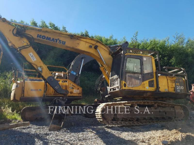 KOMATSU KETTEN-HYDRAULIKBAGGER PC200LC equipment  photo 1