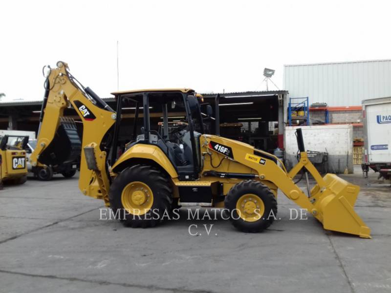 CATERPILLAR BACKHOE LOADERS 416F2STLRC equipment  photo 1