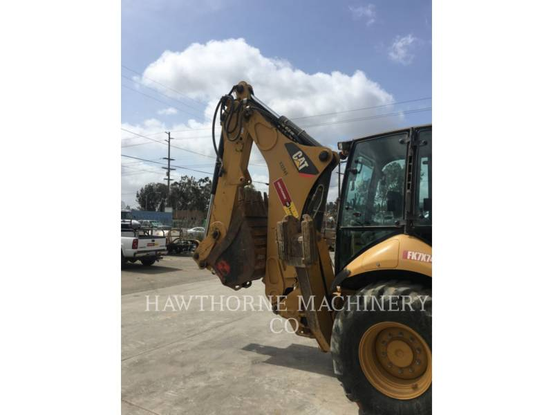 CATERPILLAR RETROESCAVADEIRAS 450F CB equipment  photo 4