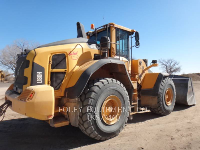 VOLVO CONSTRUCTION EQUIPMENT CHARGEURS SUR PNEUS/CHARGEURS INDUSTRIELS L180H equipment  photo 3