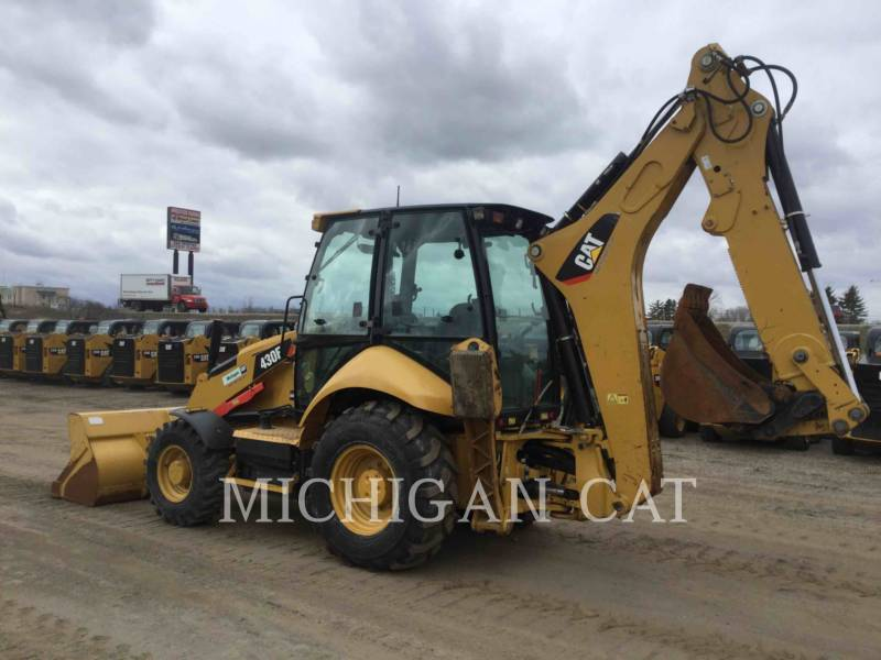 CATERPILLAR BAGGERLADER 430FST equipment  photo 3