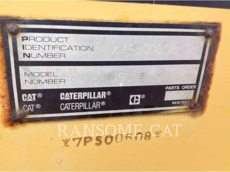 CATERPILLAR TRACTORES DE CADENAS D5CIIIXL equipment  photo 5