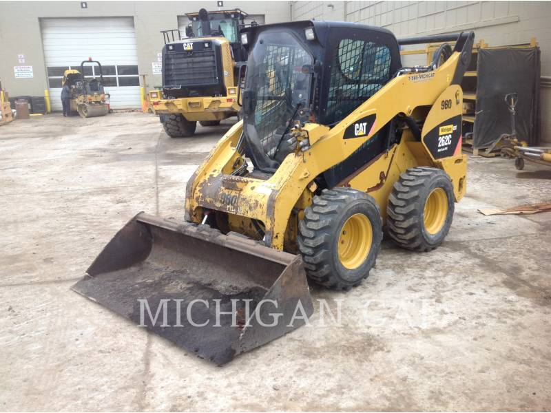 CATERPILLAR MINICARREGADEIRAS 262C AHQ equipment  photo 2