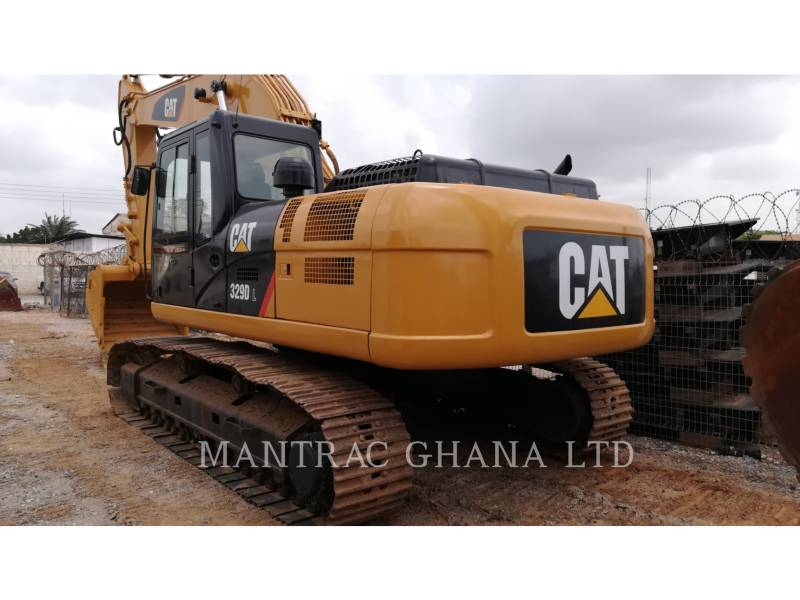 CATERPILLAR TRACK EXCAVATORS 329DL equipment  photo 1