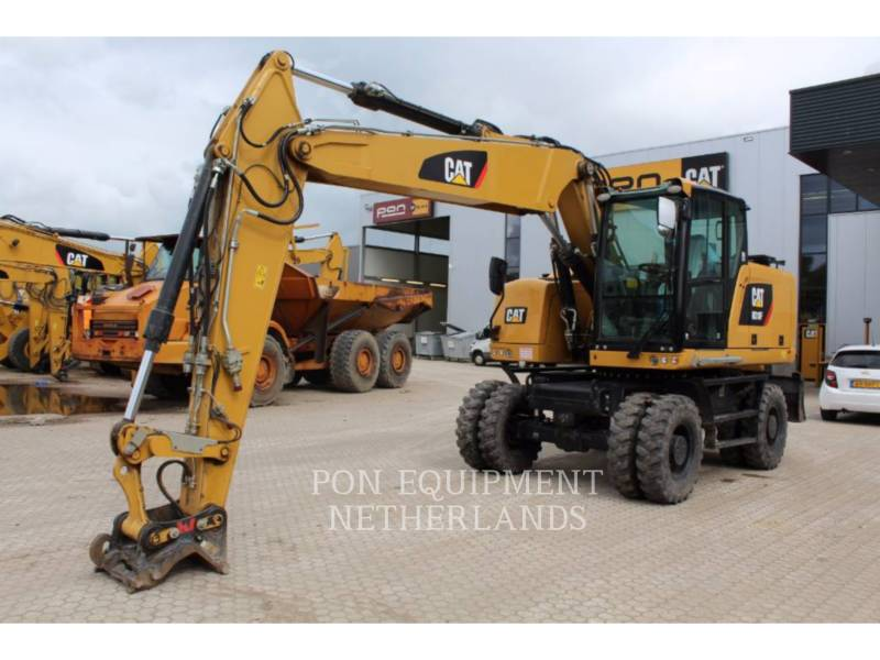 CATERPILLAR PELLES SUR PNEUS M 318 F equipment  photo 2
