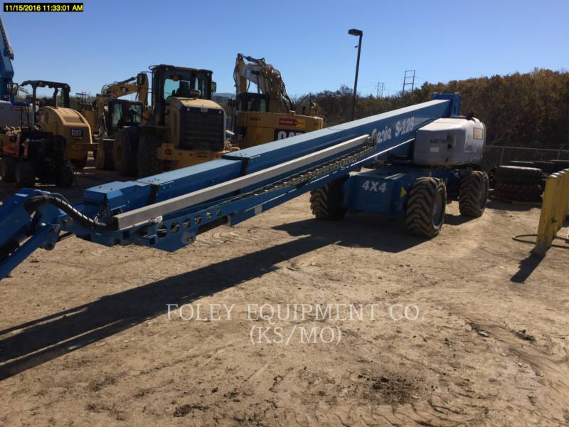 GENIE INDUSTRIES LIFT - BOOM S-125W equipment  photo 2