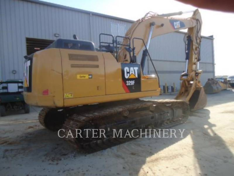 CATERPILLAR KETTEN-HYDRAULIKBAGGER 329F CF equipment  photo 2