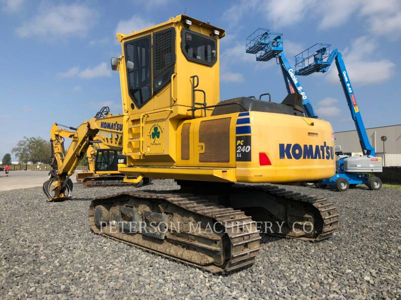 KOMATSU LTD. LOG LOADERS PC240LL equipment  photo 4