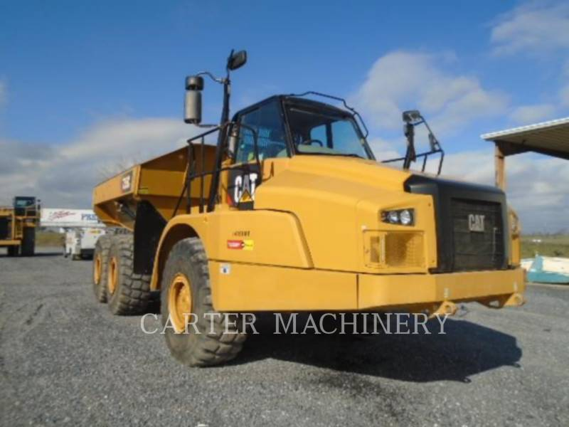 CATERPILLAR DUMPER ARTICOLATI 735C equipment  photo 1