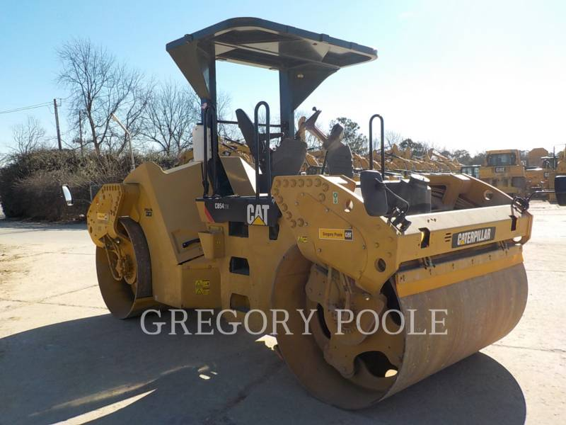 CATERPILLAR TANDEMVIBRATIONSWALZE, ASPHALT CB-54 equipment  photo 4
