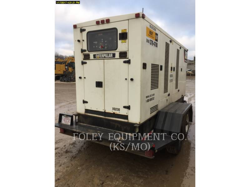 CATERPILLAR PORTABLE GENERATOR SETS XQ230 equipment  photo 1