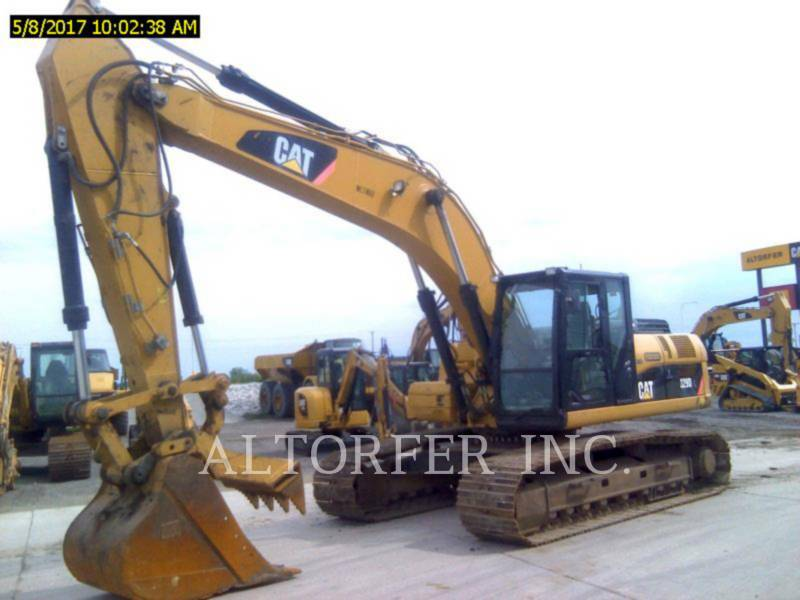 CATERPILLAR EXCAVADORAS DE CADENAS 329DL TH equipment  photo 1
