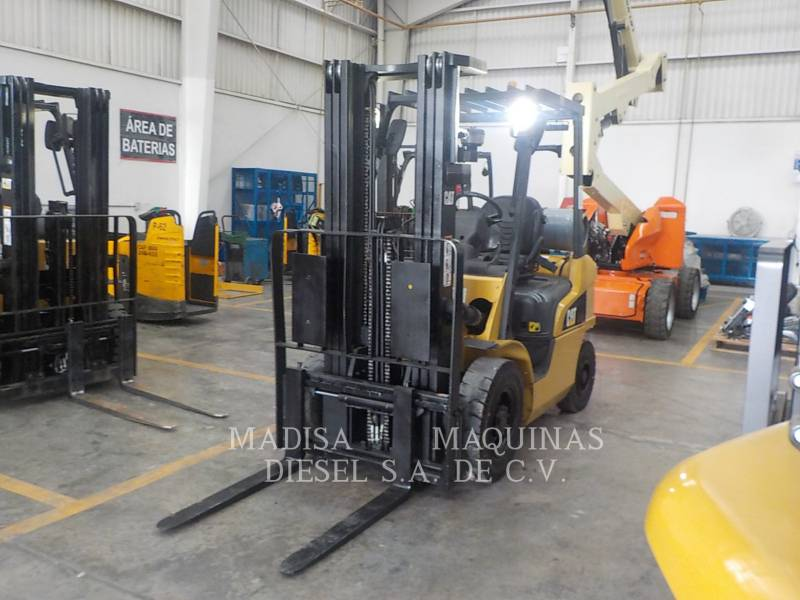 CATERPILLAR MITSUBISHI FORKLIFTS 2P5000GLP  equipment  photo 1